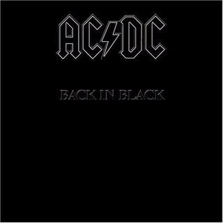 Vinilo Ac/dc Back In Black Lp
