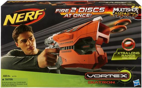 Nerf Vortex Diatron Lanza Discos Original Hasbro