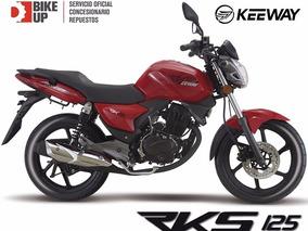 Keeway Rks 125 - Gest Emp Gratis - Permutas - Bike Up