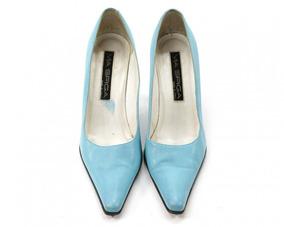 Zapatos Verde Aqua Via Spiga
