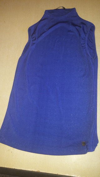 Musculosa Azul Tabatha