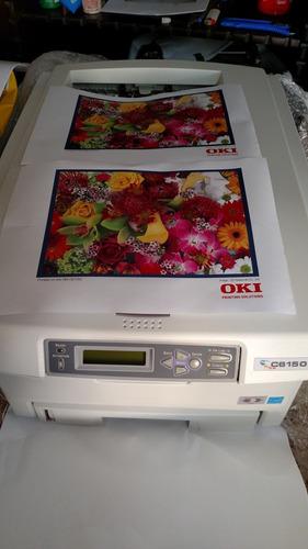 Impressora Multifuncional Oki C6150 Laser Colorida A4