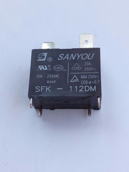 Rele Ar Condicionado Split, Sfk-112dm Sanyou 12v 2 Pçs