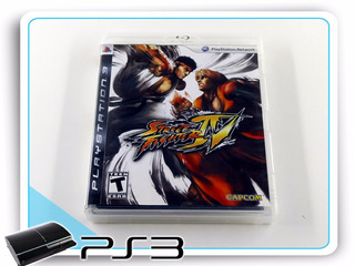 Ps3 Street Fighter 4 Original Playstation 3