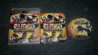 Super Street Fighter Iv Completo Play Station 3