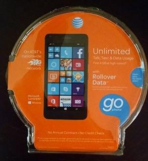 At & T Go Phone - Microsoft Lumia 640 (negro) - Sin Contrato