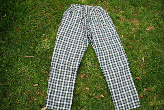 Pantalón Acuadrillé Pijama Unisex 100% Algodón