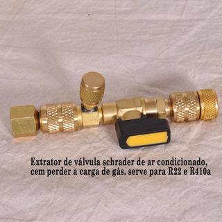 Extrator De Válvula Schrader Para Ar Condicionado Split,