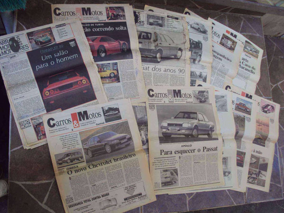 Cj Encarte Jornal Zero Hora Zh Carros & Motos Anos 80 E 90 B