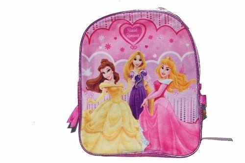 Mochila Espalda Jardin 12p Disney Princesas Wabro Mundo Team