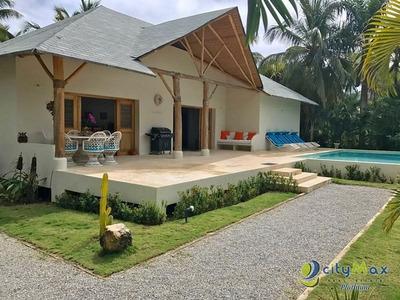 Villa En Venta Y Alquiler En Las Terrenas
