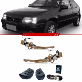 Kit Vidro Elétrico Dianteiro Sensorizado Chevrolet Kadett
