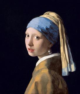 Poster Foto Obra Moça Com Brinco De Pérola 60x70cm Vermeer