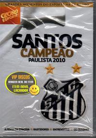 Dvd Santos Campeão Paulista 2010 Neymar Ganso Novo Lacrado