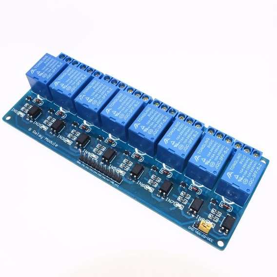 Módulo Relé 8 Canais 5v Arduino Uno R3 Shield Relay