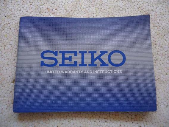 Manual Completo Relogio Seiko 5