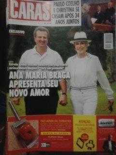 Revista Caras- Ana Maria Braga - Paulo Coelho