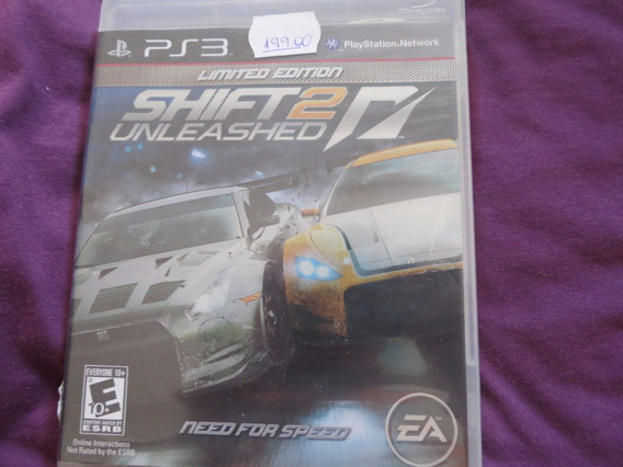 Need For Speed Shift Unleashed 2 Sony Playstation 3 Ps3 Ea