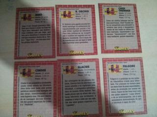 Raro Killer Instict - Cards Oficiais Da Revista Ação Games
