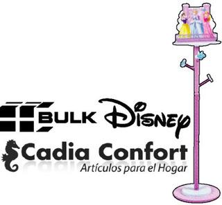 Princesas Perchero De Pie Marca Bulk Licencia Oficial Disney