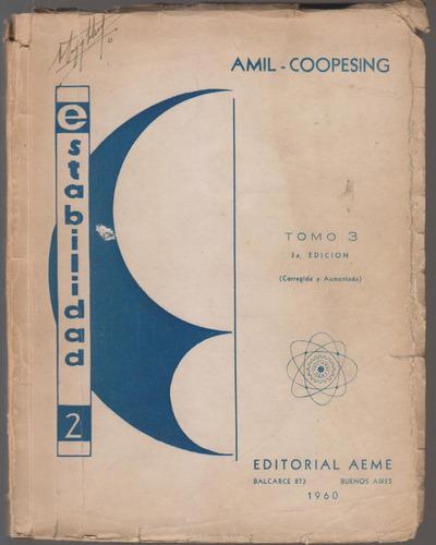 Estabilidad 2. Amil Coopesing. Tomo 3.