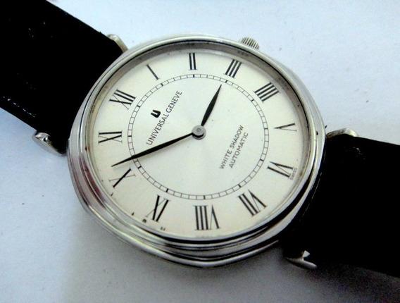 Relógio Universal Geneve White Shadow Micro-rotor