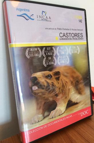 Imagen 1 de 4 de Dvd Castores. La Invasion Del Fin Del Mundo. Documental