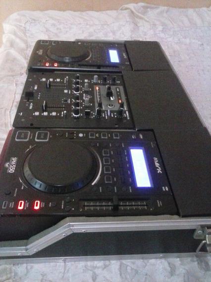 Par De Cdj Meric 550 Com Mixe E Case
