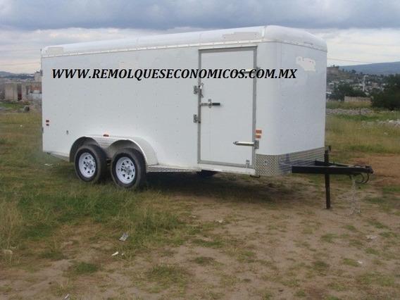 Remolque Caja Seca, 3000 Kilos, Marca Norte