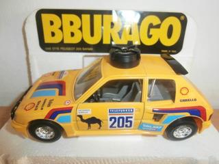 Peugeot 205 Safari Burago Escala: 1:25