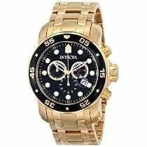 Relógio Invicta Pro Diver Dourado Masculino - 0072