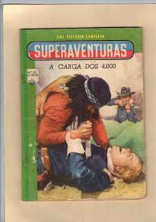 Superaventuras Nº35 Ediex A Carga Dos 4000