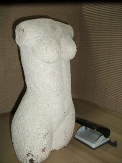 Escultura Torso Femenino Piedra Natural, Arte,decoración.