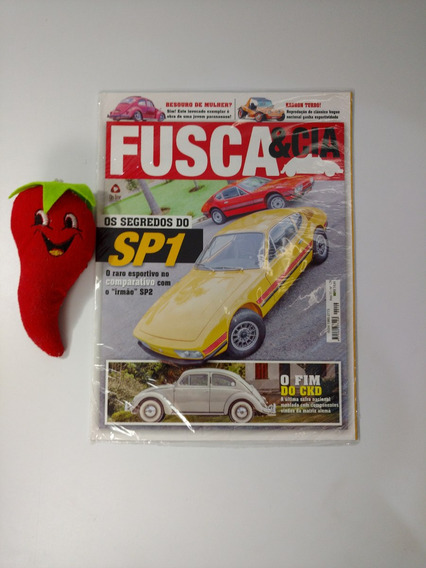 Revista Fusca & Cia N°129 Os Segredos Do Sp1 (loja Do Zé)