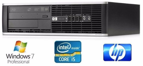 Pc Hp 8200 Pro Cpu Intel Core I5 4gb Hd 250gb Win7pro