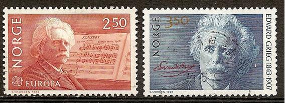 Noruega Serie Año 1983 Serie Yvert N°841/2