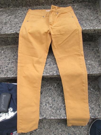 Pantalón Chupin Elastizado Carbon Importado Eeuu