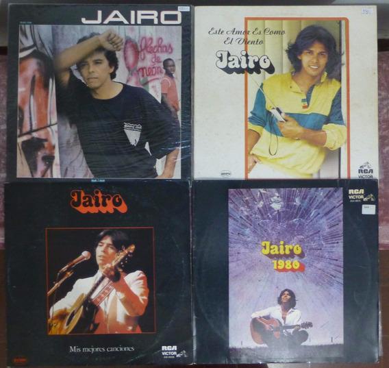 Jairo Discos De Vinilo Lp Lote X 4