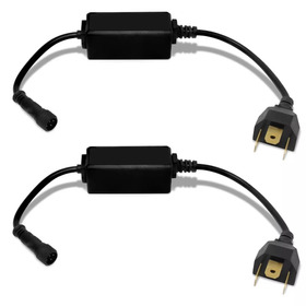 Kit Super Led Lampada H4/h7 6000k Super Branca Efeito Xenon