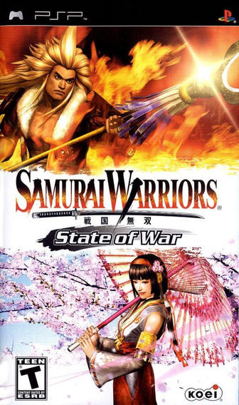 Samurai Warrior: State Of War - Psp - Americano Lacrado Nf