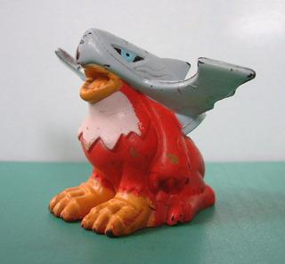 Antiguo Muñeco De Goma Halsemon Digimon
