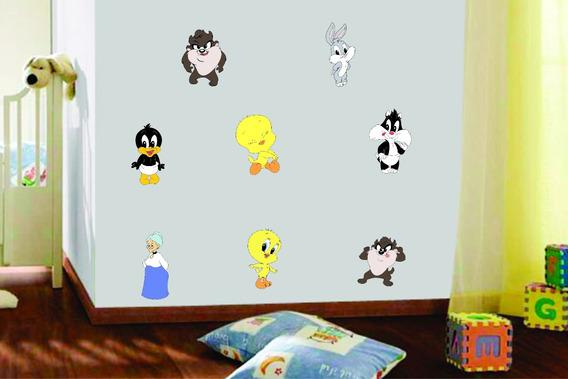 Adesivo Parede Infantil Disney Baby Looney Tunes Piu Piu