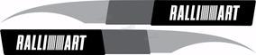 Adesivo Faixa Lateral Mitsubishi Lancer Ralliart Lc013
