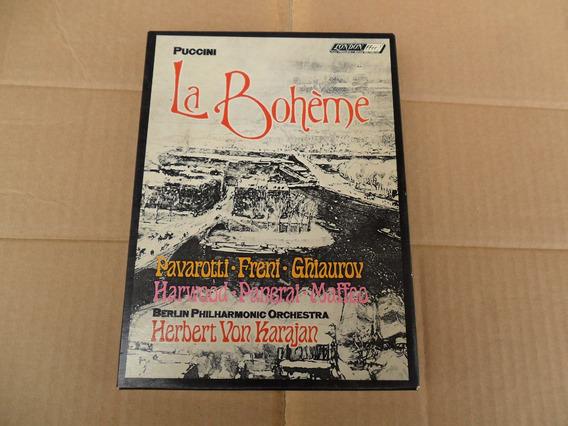 La Boheme - Puccini Pavarotti Freni H. Von Karajan Box K7