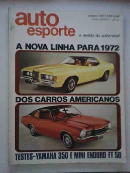 Revista Auto Esporte N° 84 - Outubro 1971