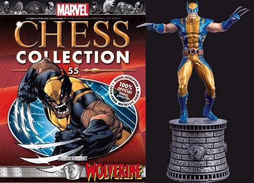 Imagem 1 de 2 de Mcc 55 Miniatura Wolverine Marvel Chess - Bonellihq H21