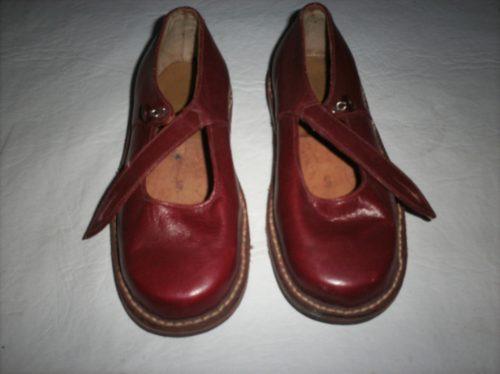 Vintage Zapatos Niña Nº 25 Super Fuertes