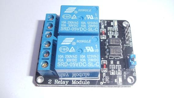 Módulo Relé 2 Canais Para Arduino - Pic + Codigo Arduino