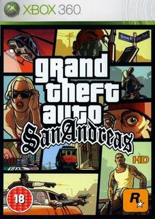 Grand Theft Auto Gta San Andreas Hd Remaster - Xbox 360
