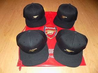 Snapback Arsenal Cañon Metalico Oficial Exclusivos